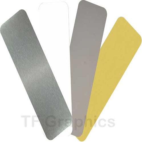 Aluminium Bookmark Personalised 4 colours options