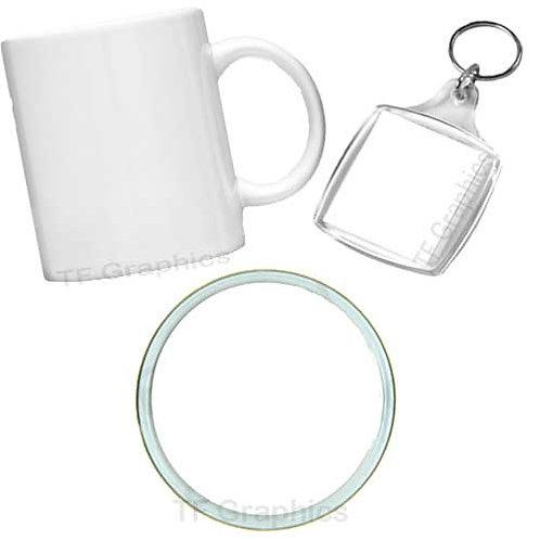 Mug, Coaster & Keyring Set - Personalised
