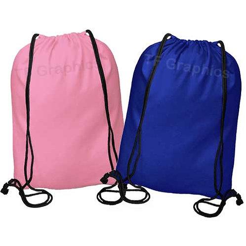 Drawstring Gym / Duffel Bag Personalised