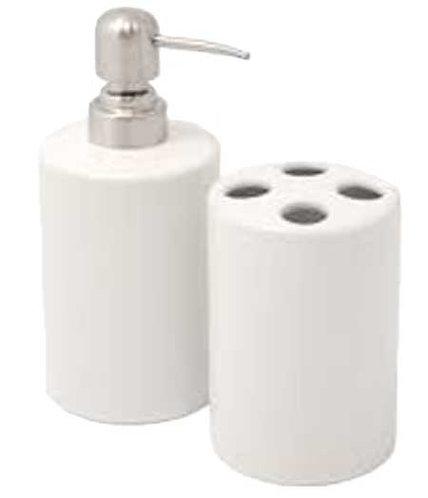 Ceramic Toothbrush Holder & Soap Dispenser - Personalised