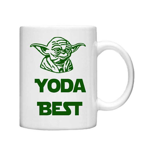 Yoda Best 11oz Mug - Choice off different handles and colours
