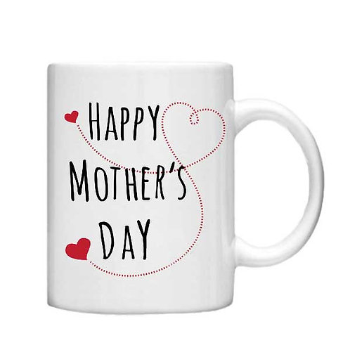 Happy Mothers Day - 11oz Mug - Choice off different handles and colour
