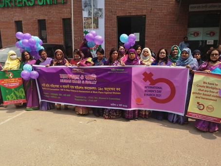 ITUC-BC Women's Committee held a discussion on the ratification of ILO Convention 190
