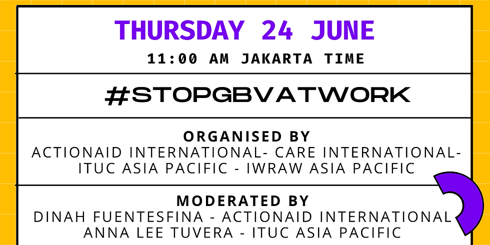 #StopGBVatWork