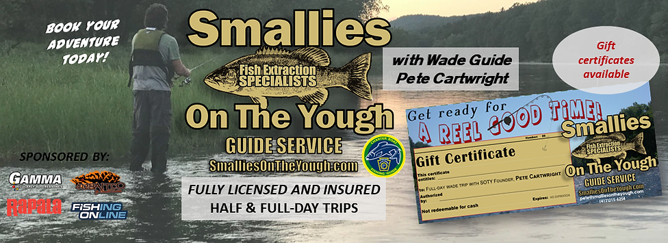 Smallies on the Yough Gift Certificate