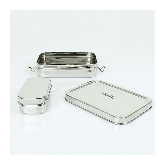 Stainless steel 2in1 Lunch box