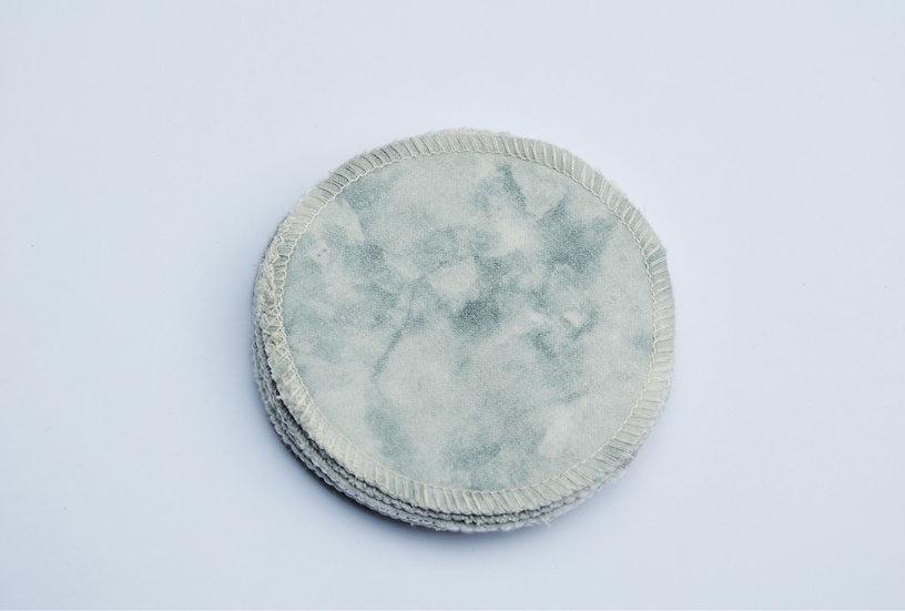 Cotton pads - tie dye
