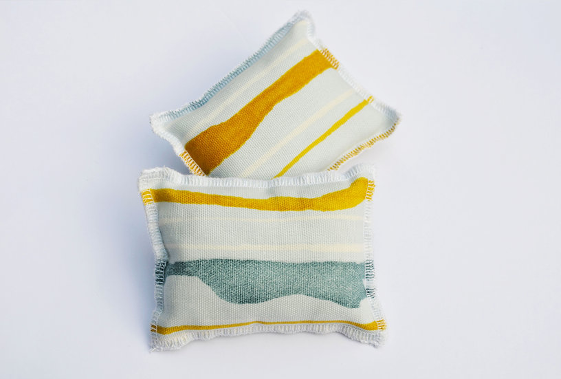 Zero waste Dish sponge - striped