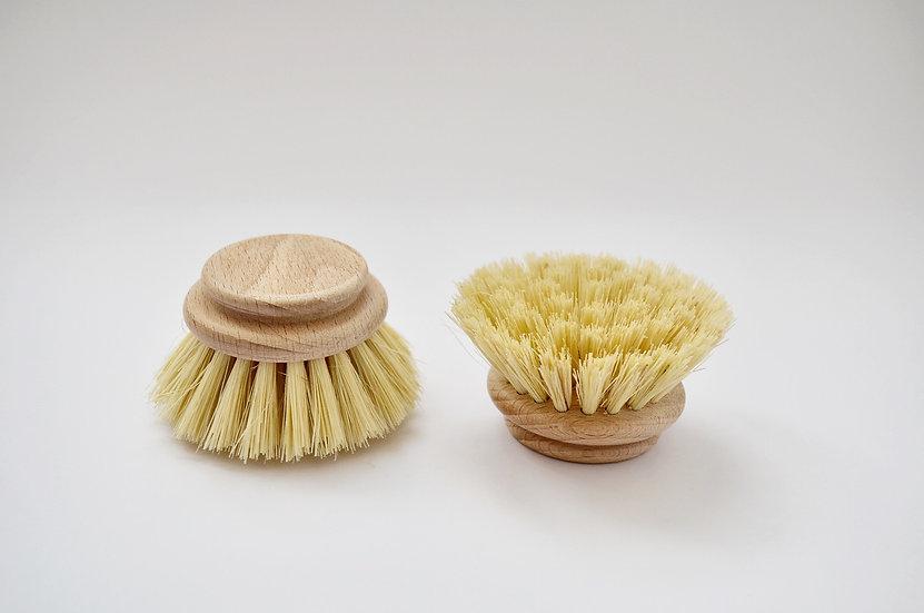 Natural wooden dish brush