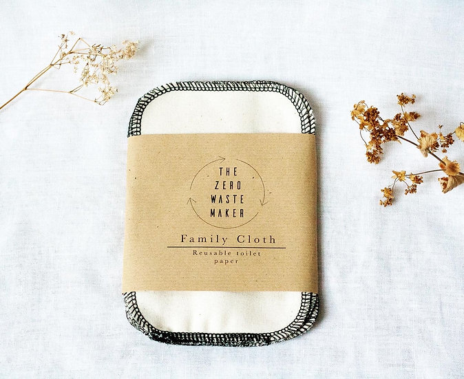 Two ply cotton Family Cloth