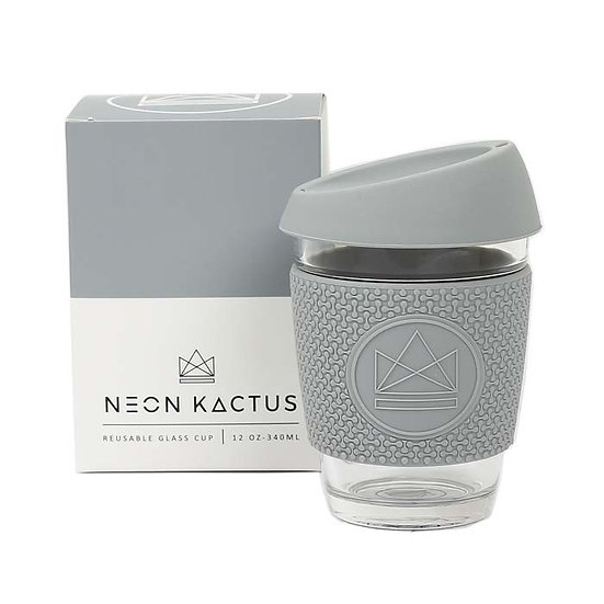 Glass coffee to go cup | Grey