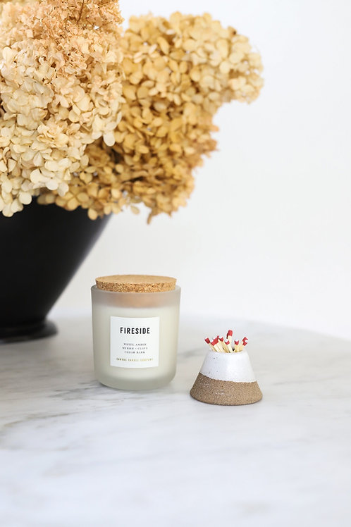 Fireside - soy candle