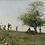 Thumbnail: Framed, Vintage Fishermen Print