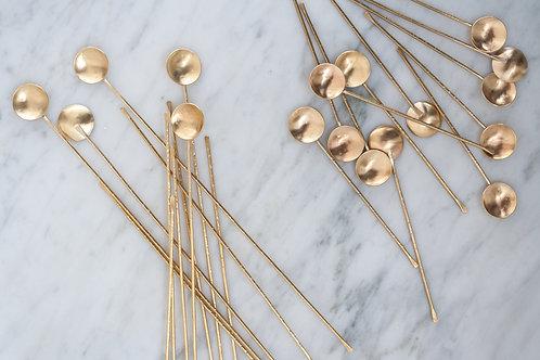 Brass Spice Spoon