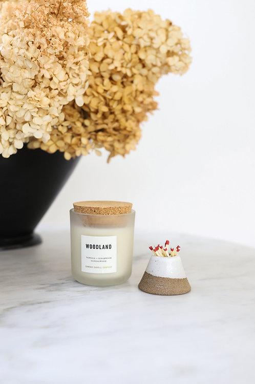 Woodland - soy candle