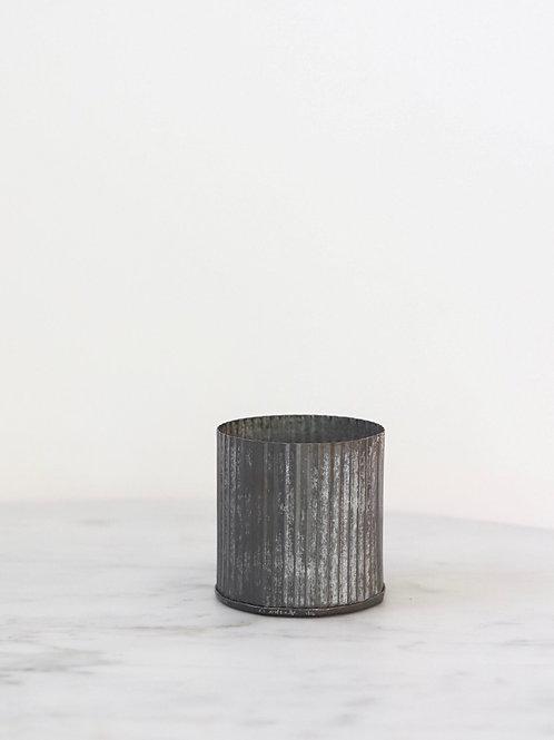 Corrugated Zinc Pot
