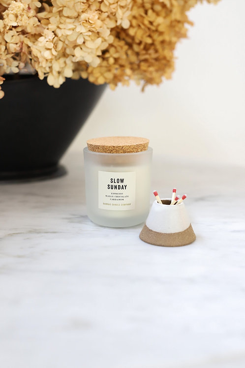 Slow Sunday - soy candle