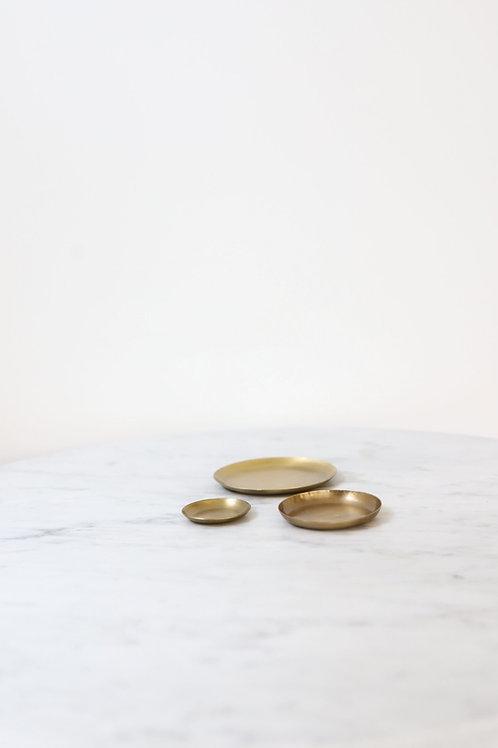 Brass Plate - round