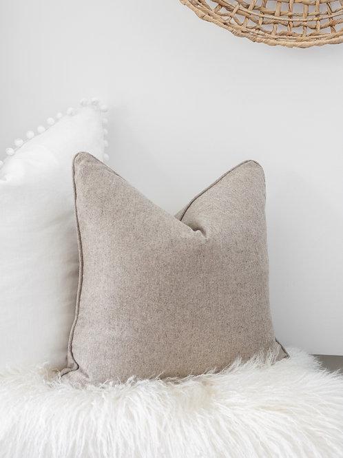 Wool Blend Pillow Cover