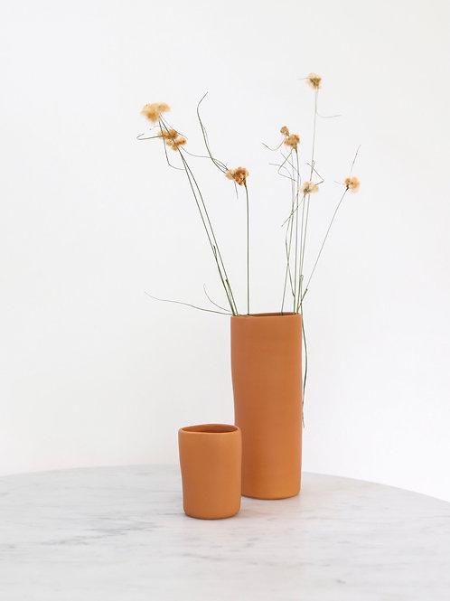 Pumpkin Spice Vase