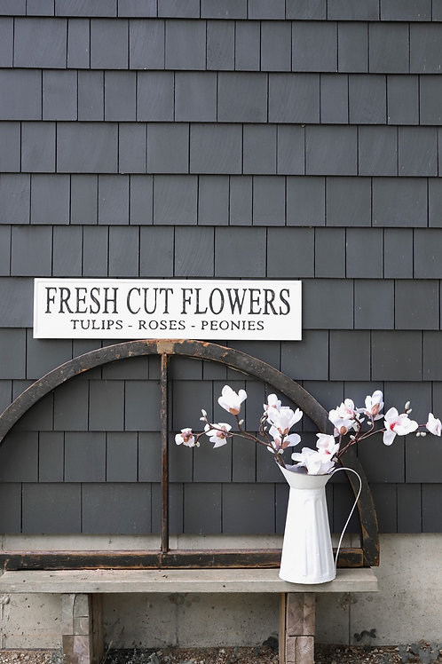 Cut Flower Sign