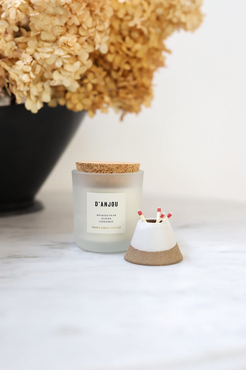 D'Anjou - soy candle