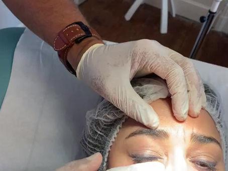 Technique de massage cernes post injection acide hyaluronique