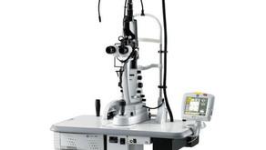 Acquisition du laser rétinien photocoagulateur argon jaune multisport 577nm Nidek