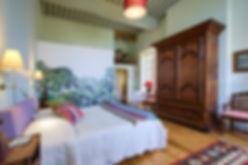Chambre d'hôte du château de Castelnau: Chambre de l'évêque