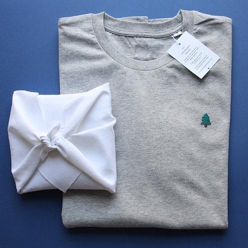 T-shirt brodé sapin