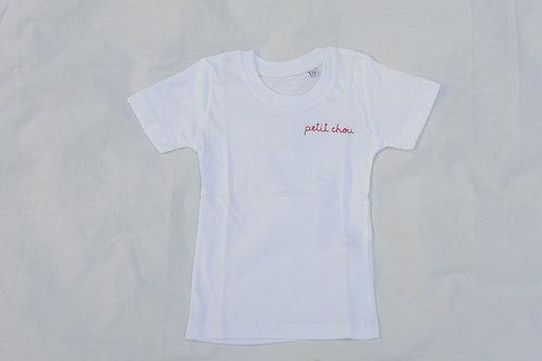 T-shirt enfant brodé à personnaliser !