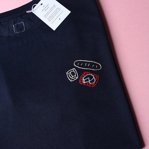 T-shirt personnalisé broderie sur-mesure