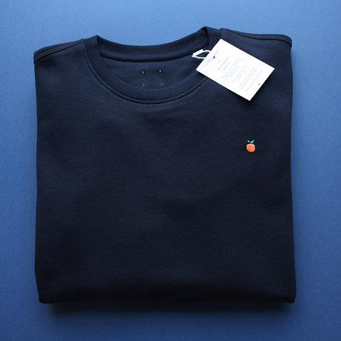 Sweat-shirt unisexe orange