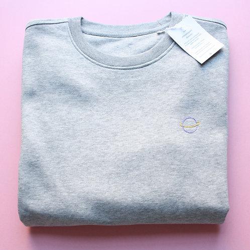Sweat-shirt unisexe planète