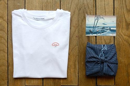 T-shirt brodé sushi