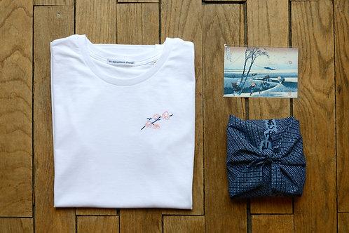 T-shirt brodé Sakura