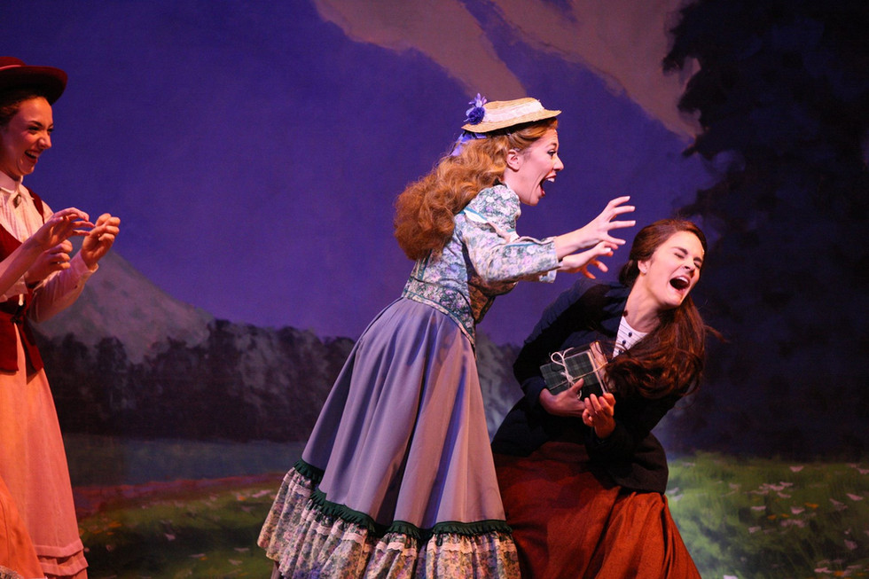 Sarah in SEVEN BRIDES FOR SEVEN BROTHERS