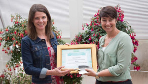 Sharon McMaster Crowned RHS School Gardening Champion of the Year 2016