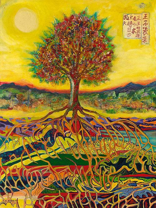 Golden Tree Roots