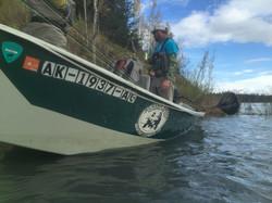 Upper Kenai River Driftboat Cooper Landing