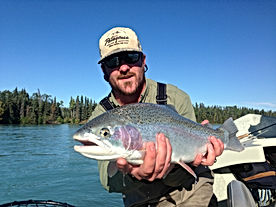 James Walker Fishing Guide Rainbow Trout