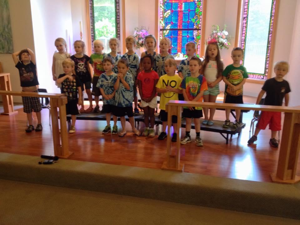 Preschool Graduates 2015