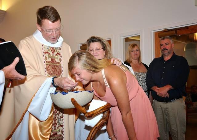 Aubrie Baptism