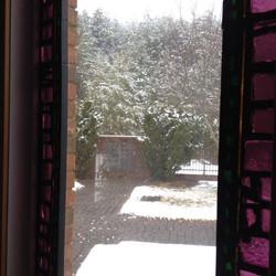 memorial garden snow