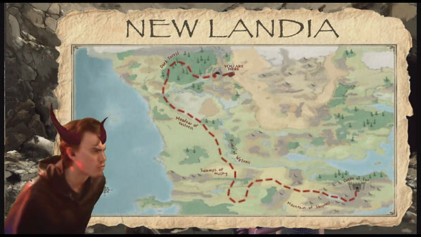 Map of New Landia