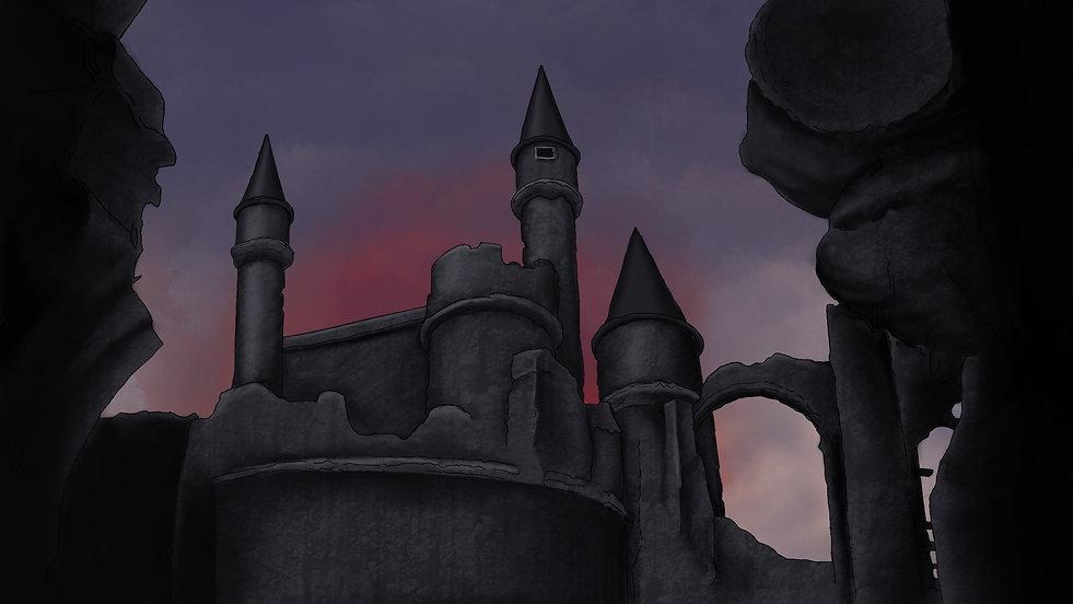 Castle of Evil Background
