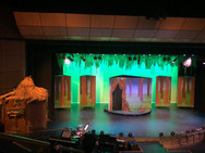 Forest Scene with Shrek's House