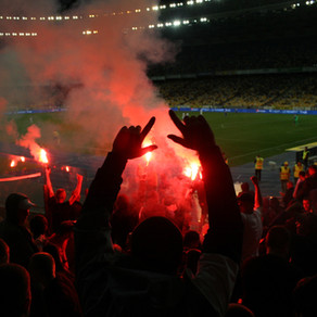 The organised chaos of Odessa's ultras