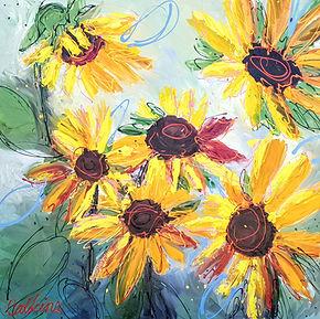 Six Suns 122x122cm Acrylic  $2000.jpg