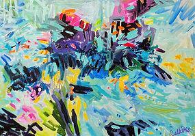 Ningaloo Reef #1 51x76cm Acrylic $750.jp